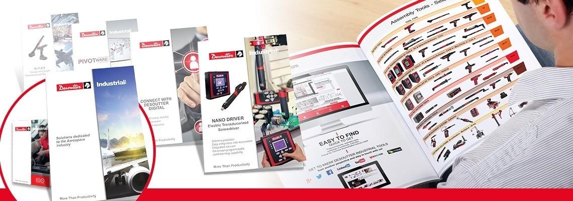 Desoutter Industrial Tools Kataloger och Broschyrer