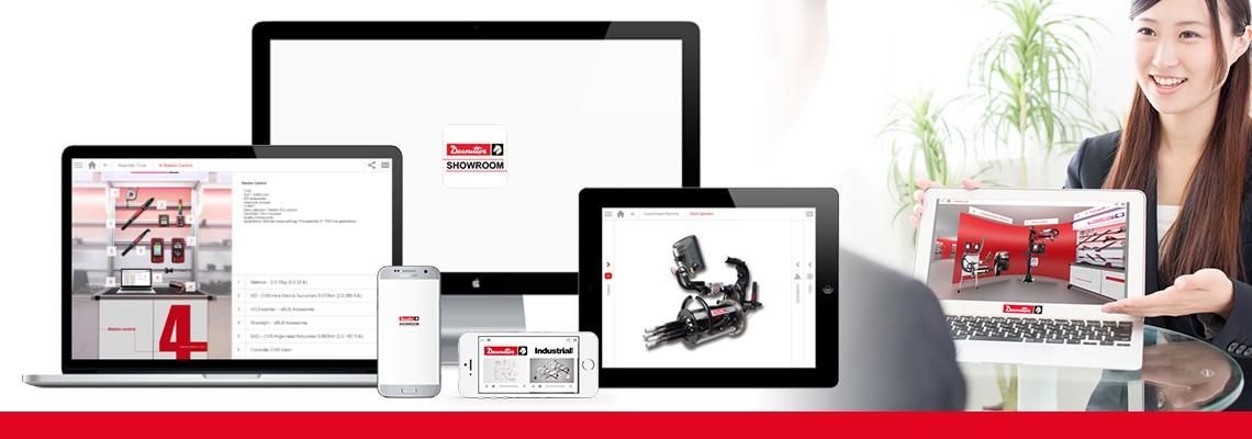 Ladda ner Showroom-appen för att utforska alla våra monterings- och borrningslösningar med hjälp av foton och videor. Desoutter står alltid till din tjänst, även när du är offline.