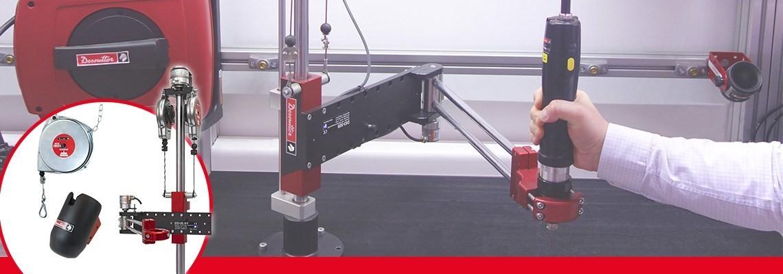 Desoutter Industrial Tools tillverkar inte bara förstklassiga verktyg med höga prestanda, utan också tillbehör. Kontakta oss för att komplettera och optimera din verktygsuppsättning.