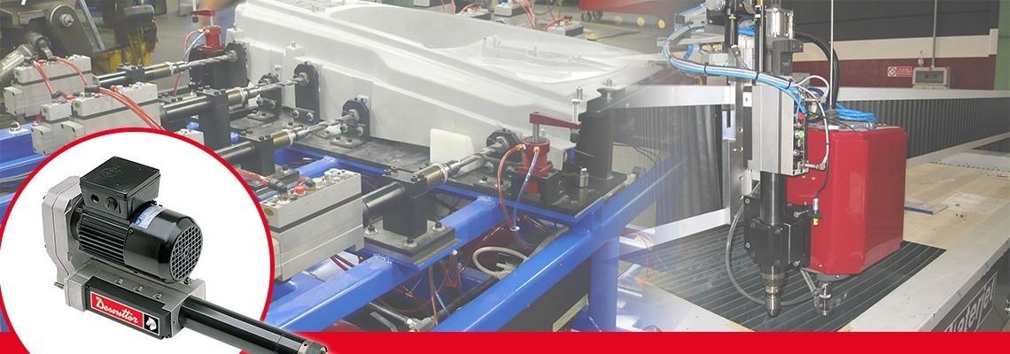 För att vidareutveckla kundernas borrar med automatisk matning har Desoutter Industrial Tools tagit fram styrblock med enkla eller fullständiga funktionsuppsättningar och ett elektriskt gränssnitt. Begär in en offert.