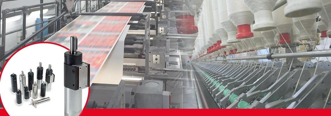 Desoutter Industrial Tools har utvecklat ett fullständigt sortiment av icke-reversibla tryckluftsmotorer med gängade axlar.