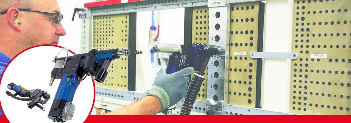 Den tryckluftsdrivna avancerade borrutrustningen i Seti-Tec-serien är särskilt avsedd för halvautomatisk borrning för monteringsutrustning för flyg- och rymdindustri.