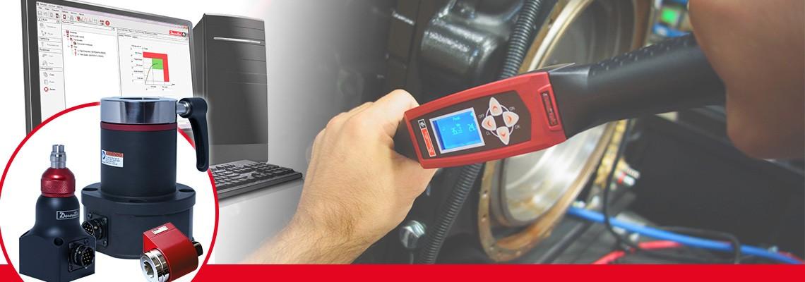 Desoutter Industrial Tools har tagit fram ett fullständigt sortiment av roterande momenttransduktorer för mätning av momentuteffekten hos slagfria monteringsverktyg.