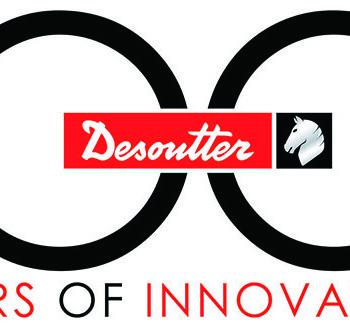 Desoutter 100-årsjubileum Logo