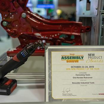 EABS vald till Årets Produkt av besökare på Assembly Show