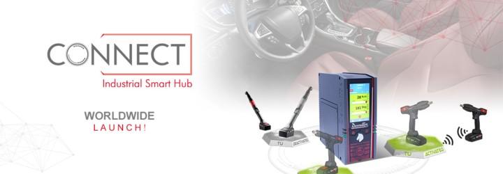 Vi vill stolt introducera vår nya Industrial Smart Hub vid namn CONNECT : en Desoutter 4.0 lösning!